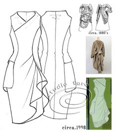 well-suited: Pattern Puzzle - The Pocket Drape #Womens-Fashion