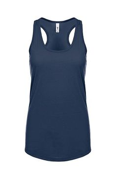 Next Level Apparel IDEAL RACERBACK TANK - midnight (with Ideal crew and men's fitted crew)