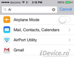 SearchSettings permite cautarea rapida a setarilor pentru iOS in aplicatia Settings