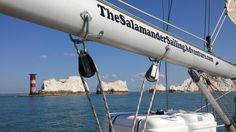 The Salamander Needles Isle of Wight Boat Trip Adventure - Regular departures from Lymington, a charming Georgian Town with it's cobbled streets, sailing down the Lymington River and the Solent towards the Needles at the westernmost point of the Isle of Wight, returning to Yarmouth to stop for lunch at the 17th century George Hotel, with magnificent across the western Solent. Details http://www.thesalamandersailingadventure.com/needles-isle-of-wight-luxury-boat-trip