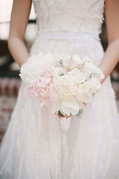 #peony, #bouquetPhotography: Perpixel Photography - perpixelphoto.comRead More: http://stylemepretty.com/2013/09/05/diy-los-angeles-wedding-from-perpixel-photography/