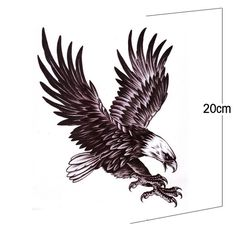 Eagle Tattoo, the eagle image represents freedom, power and sovereignty. Eagle tattoo styles area unit foundations in current tattoo business, and this is. Best Sleeve Tattoos, Body Art Tattoos, Wing Tattoos, Hawk Tattoo, Tattoo Bird, Tattoo Forearm, Tattoo Man, Tattos, Tattoo Geometrique