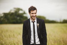 A Casual Groom... A happy groom