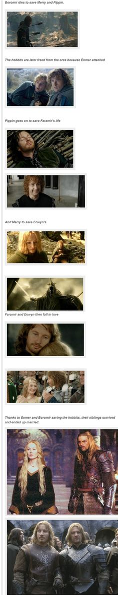 The significance of Hobbits... you may go weep now.