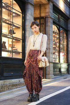 ストリートスナップ渋谷 - 新井 緑さん   Fashionsnap.com