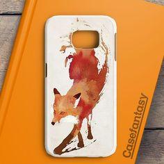 Jump Fox Art Samsung Galaxy S6 Edge Case | casefantasy