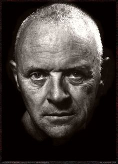 Anthony Hopkins by Helmut Newton