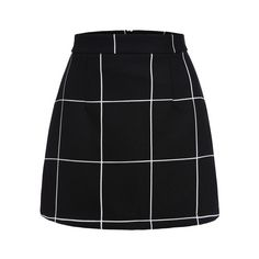 Black Plaid Mini Skirt ($15) ❤ liked on Polyvore featuring skirts, mini skirts, plaid miniskirt, short plaid skirt, tartan plaid mini skirt, short skirts and tartan mini skirt