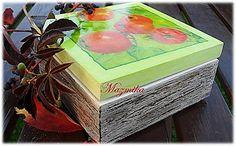 Ma-kramik: Jesienne jabłuszka