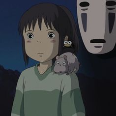 Spirited Away, Studio Ghibli, Best Friends, Artwork, Anime, Cartoons, Icons, Wall, Beat Friends