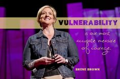 Brene Brown on vulnerability at Photo by James Duncan Davidson Ted Quotes, Funny Quotes, Dr. Brown, Social Work Humor, Ted Speakers, Brene Brown Quotes, Therapist Office, Daring Greatly, Ted Talks