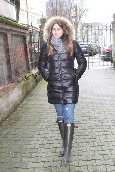 Coat: Nowistyle / Jeans: Abercrombie & Fitch / Beanie: Zara(a/w 2012) / Scarf:Zara (a/w 2012) / Boots: Hun...