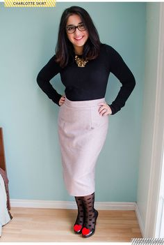 Charlotte Pencil Skirt | Sew Anita