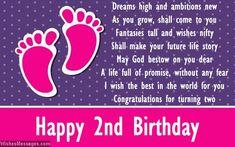 Second birthday poems: Happy 2nd birthday poems