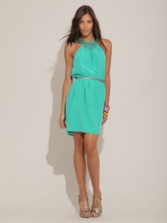 another bachelorette party dress!? love this color
