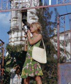 Brigitte in Mexico, 1965.