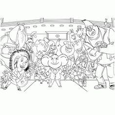 ARTE COM QUIANE - Paps, Moldes, E.V.A, Feltro e Costuras: Filme Sing - Desenhos para colorir | Sing Movie Coloring Pages