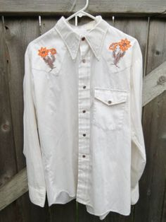 Check out this item in my Etsy shop https://www.etsy.com/listing/294468741/mens-vintage-bronco-western-white-long