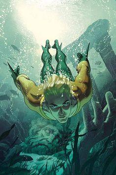 An Atlantean terrorist attack kills hundreds, and #Aquaman takes the blame! AQUAMAN #4, on sale 8/3!