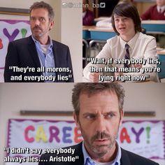 Everyone lies...