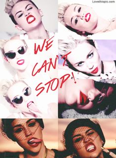 We Cant Stop beautiful red celebrity miley cyrus lipstick stop cant miley musician