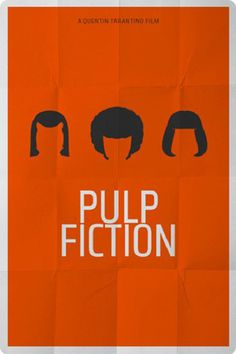 Pulp Fiction | THE 30 BEST FILM POSTERS MINIMALIST CULTS