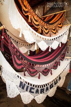 Nicaraguan Handwoven Hammock