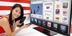 LG presentó un Smart TV que posee un milímetro de espesor http://j.mp/1INpx7Q    #Gadgets, #LG, #LGDisplay, #OLED, #SmartTV