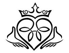 Claddagh tattoo...can't believe I haven't thought of this already! Adding to my tattoo-do list! <3