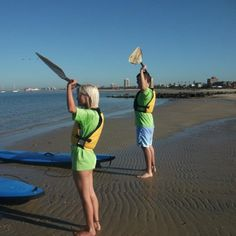 Stand Up Paddle HQ Couples SUP Adventure Oz Tour Guide