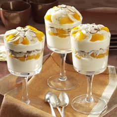 Ambrosia Pudding ~ A special way to round out a quick dinner.