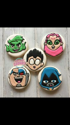 Teen Titans Go, Comic Movies, Jessie, Birthday Parties, Sweets, Cookies, Party, Raven, Tv