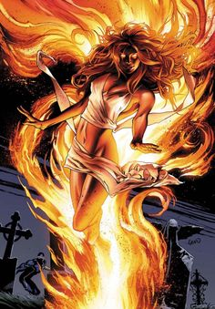 X-Men: Jean Grey, Phoenix. Is it bad i saw Mary/Jess from supernatural?