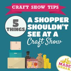 Craft shows are definitely a more relaxed atmosphere and that's what makes them such a unique shopping experience. Shoppers get to connect and have an engaging conversation with the owners of a small business. Although this setting allows the more...