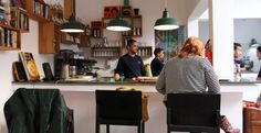 Not your typical cafe, Cafe Clock offers camel burgers, almond milkshakes, homemade ice cream and breakfast all day! We are a space for arts, music, good food, talent and exchanging culture traditional and modern. Our Thursday night Hikayat, or traditional storytelling, performances are the old stories that were previously told in the square. We're reviving the tradition and for the first time the tales are narrated for our audience in both English and Arabic.
