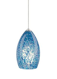 Pendant lighting intense cobalt blue please dont tell marietta i view the tech lighting 700mofirp monorail firebird peacock patterned murano glass pendant 12v halogen at aloadofball Images