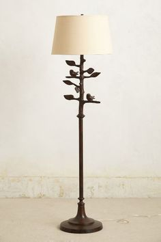 sibley floor lamp (oh the birds) | anthropologie