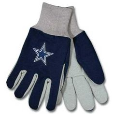 Dallas Cowboys NFL Two Tone Gloves