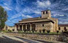 Iglesia #mozárabe de Santa María de #Wamba provincia de #Valladolid
