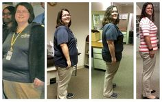 18 Before and After Weight Loss Photos - Reddit user denovosibi shed 140 pounds in only 19 months and went from 300 to 160 lbs. Not only is she thinner, she looks younger and more vibrant.