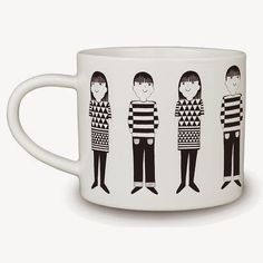 Jane Foster Blog: New mugs and glasses by Jane Foster for Make International
