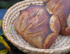 Pšenično-žitný chléb s listem Pane, Baking, Breads, Fit, Bread, Bread Making, Bread Rolls, Patisserie, Backen