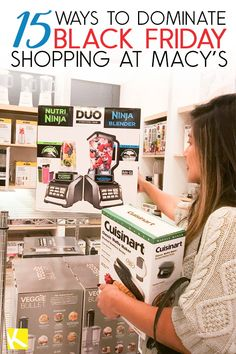 ae1d32c4a 15 Ways to Dominate Black Friday Shopping at Macy s - If Macy s is on Black  Friday