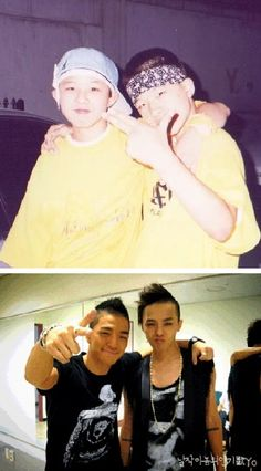 G-Dragon and Taeyang ♡ #BIGBANG #GDYB
