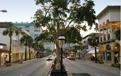 Las Olas Blvd, Fort Lauderdale - Riverside Hotel (stay in the new part/tower).  Wonderful area!