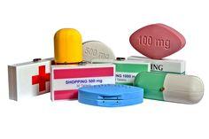 Medical Clutch a tema farmacia, La Fol by Federica Ameri