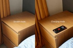 Wireless Charging Pad Hidden in IKEA bedside table – Amazing World Food and Recipes