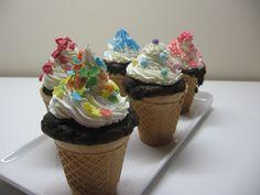 Cupcake cono gelato