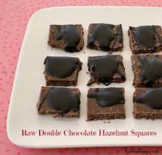 Raw Double Chocolate Hazelnut Squares (Paleo, GAPS) realfoodforager.com