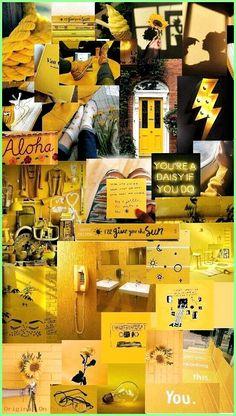 New wallpaper yellow aesthetic pastel Ideas wallpaper 852024823239781618 Wallpaper Collage, Collage Background, Retro Wallpaper, Cute Wallpaper Backgrounds, Trendy Wallpaper, Cute Wallpapers, Yellow Background, Iphone Wallpapers, Yellow Aesthetic Pastel